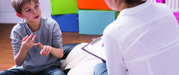 Speech and language development in children