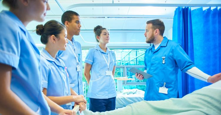 Coronavirus: Second year student nurses can spend 80% of hours on placement