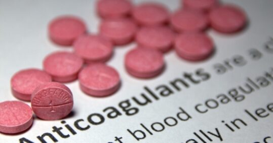Anticoagulant pills
