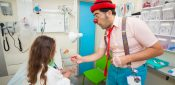Clowns can reduce pain and anxiety in child patients, research shows