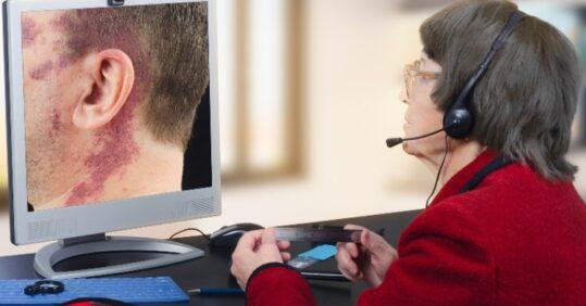 virtual dermatological consultation