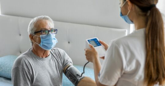 Palliative nursing at home