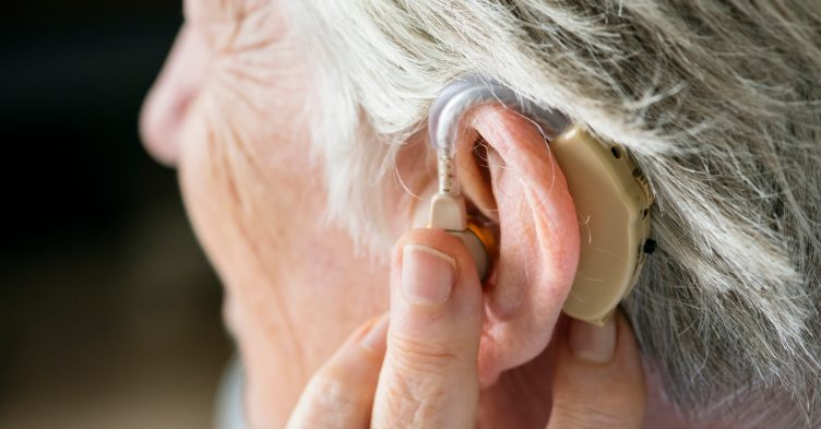 Difficulty hearing speech could be a risk factor for dementia